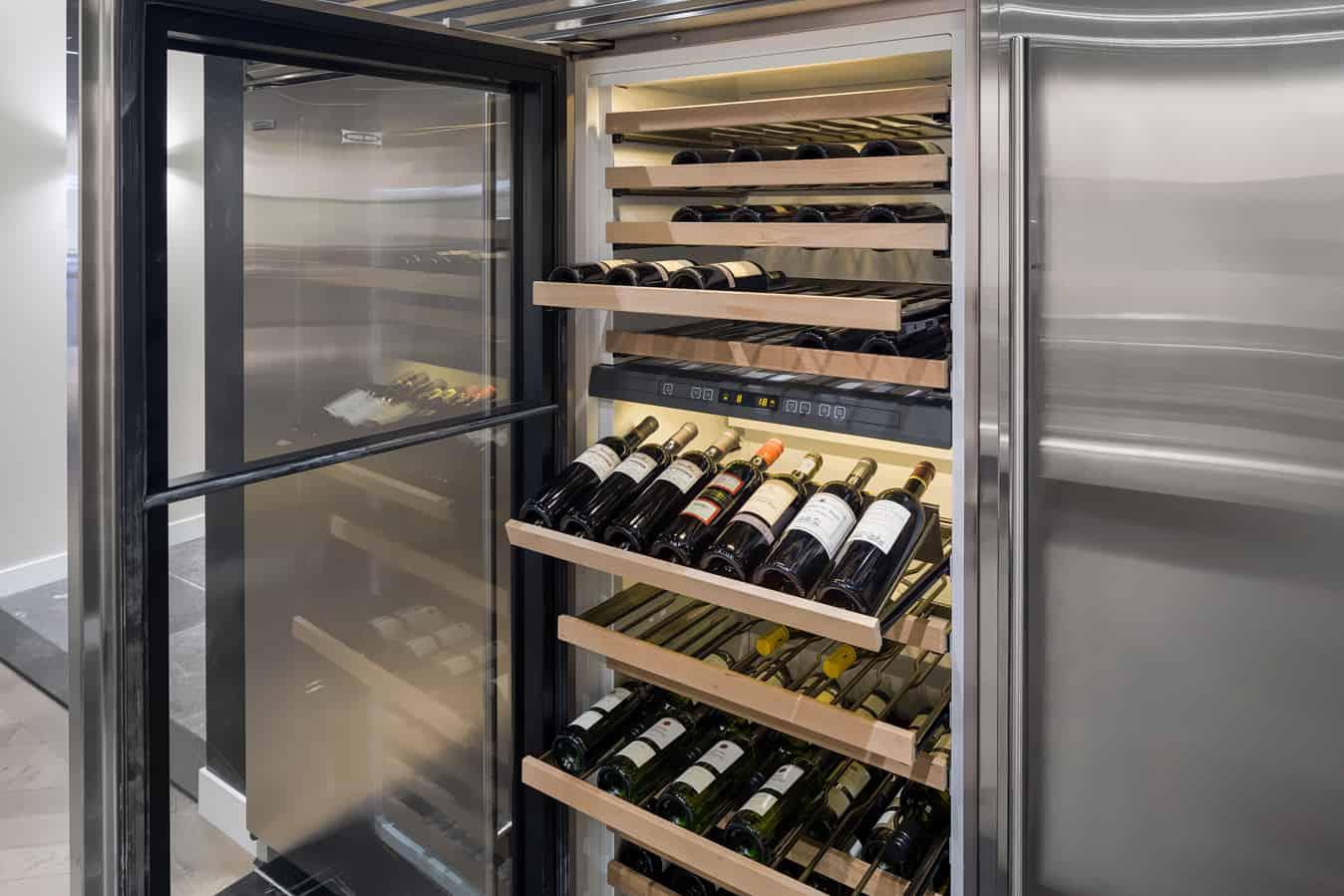 Exclusieve wijnkoeler