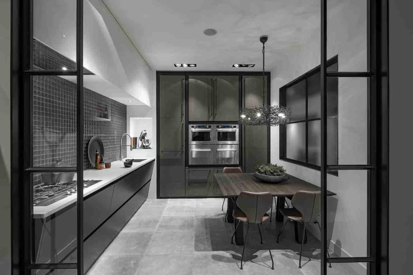 Keuken industriële look