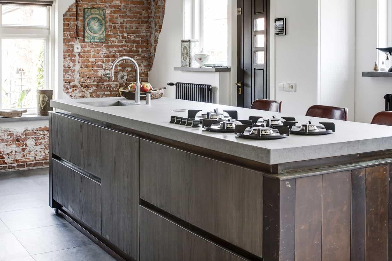 Keuken Met Koper