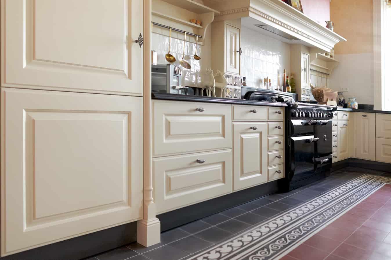 Keuken met schouw