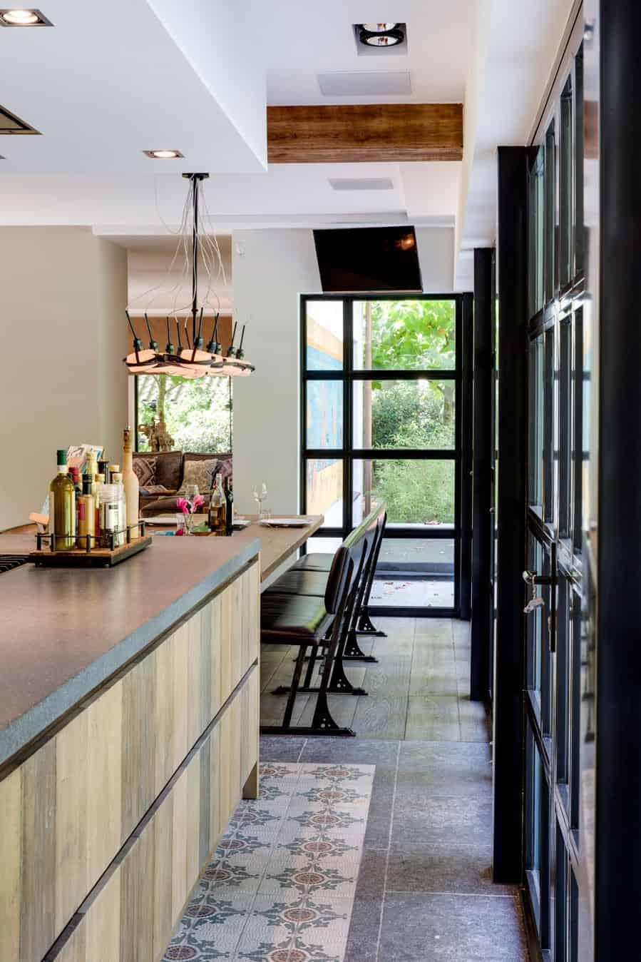 Keuken tuindeuren