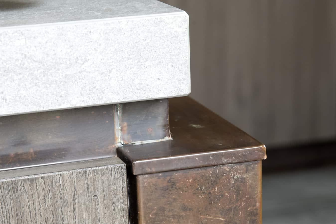 Koper beton hout