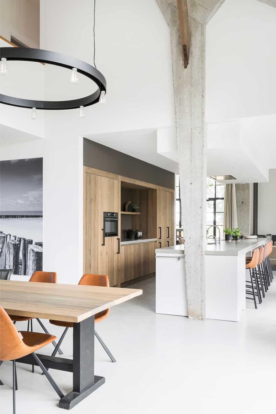 Stoere keuken beton