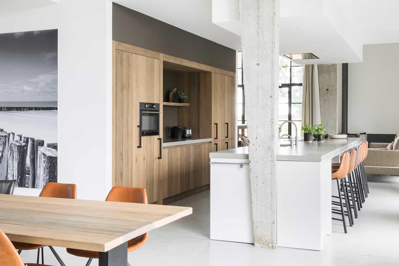 Stoere Keuken In Loft