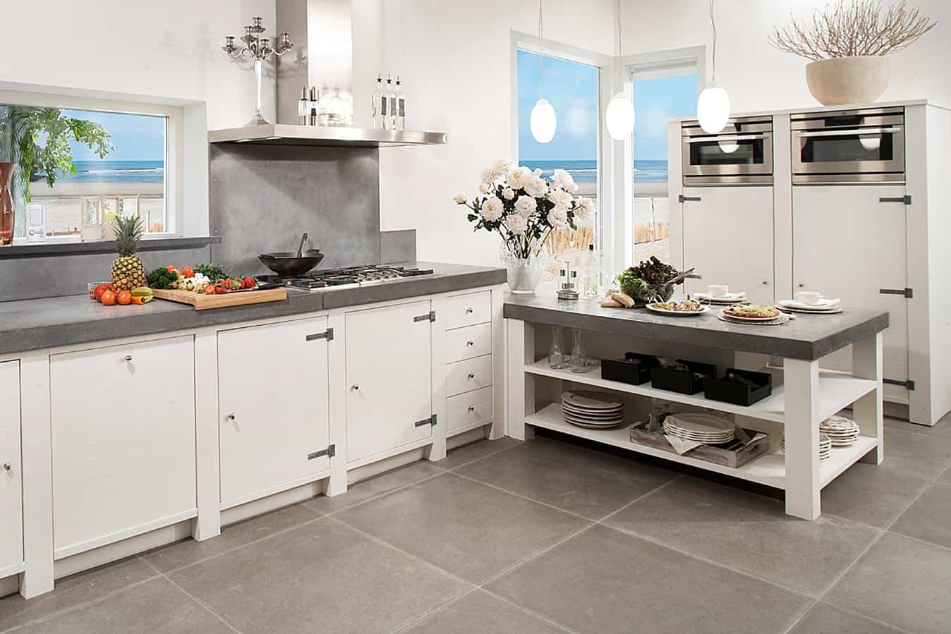 Witte Houten Keuken